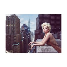 Michelle Williams | My Week With Marilyn | Vogue Photo Shoot | Annie... ❤ liked on Polyvore featuring people