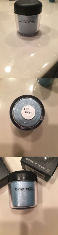 Eye Shadow Liner Combination: Bn No Box Mac Cosmetics Naughty Nauticals Mutiny Pigment Eyeshadow - Full Size -> BUY IT NOW ONLY: $30 on eBay!