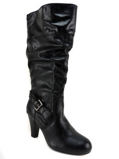 G By Guess Women's Randall Wide Calf Slouch Knee-High Boots Black Size 6 (B, M) #GUESS #KneeHighBoots #DressorCasual