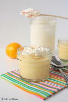Meyer Lemon Pudding