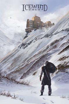 ArtStation - The Long Road - an Icewind Dale fan art, Andrii Shafetov