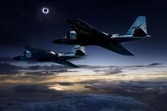 NASA Will Chase the Total Solar Eclipse in Badass Jets