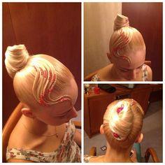 Ballroom hair