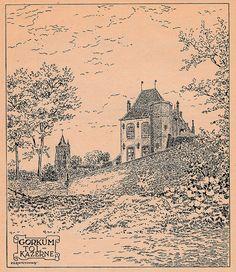 De Gorinchemse vraagbaak geeft antwoord (Uitgave Boekhandel Stein juli 1948) - Tolkazerne   by Barry van Baalen