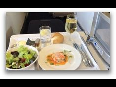 A flight from London Heathrow to New York's JFK on British Airways, travelling in Club World business class. Includes shots of Terminal 5 and on board service Flying First Class, British Airways, Business Class, Luxury Travel, York, London, Eat, Ethnic Recipes, London England