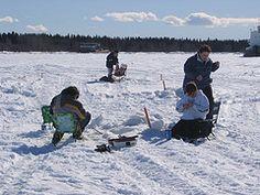 Ice Fishing - A Top Alberta Winter Activity
