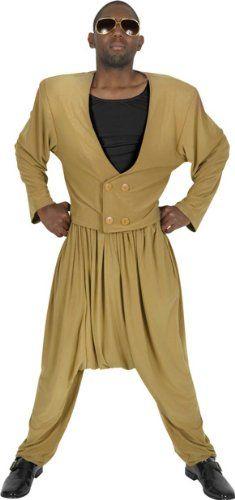 Adult Men's Mc Hammer Halloween Costume-- #HalloweenCostumesForAdults