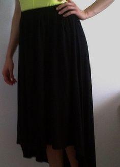Kup mój przedmiot na #vintedpl http://www.vinted.pl/damska-odziez/spodnice/9402599-czarna-spodnica-asymetryczna-dluga