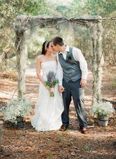 Wedding in the Woods = <3!