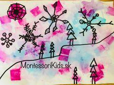 Maľovanie s rozprašovačom a krepovým papierom - Montessori Kids Deathly Hallows Tattoo, Kids Crafts, Montessori, Triangle, Tattoos, Tatuajes, Tattoo, Tattos, Tattoo Designs