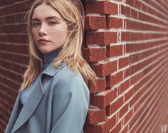 Get Ready to See a Lot More of Midsommar's Florence Pugh — Vanity Fair Hippie Mom, Lady Macbeth, Florence Pugh, Girl Crushes, Vanity Fair, Green Eyes, Pretty People, Hollywood, Long Hair