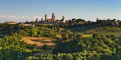 San Gimignano ,la Toscana.<3