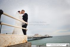 #Bride & #Groom on #WorthingPier