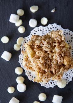 Apple Pie Rice Krispie Treats.