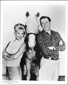 Connie Hines and Alan Young in Mister Ed .... (1958–1966)