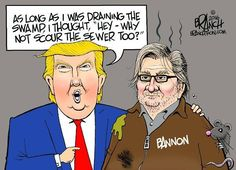 Republicans don't bother commenting. I will just delete the pin and repost after I block you! Trump & Bannon
