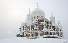 Belogorsky Monastery , Russia, located near Kungir.