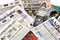 Diverse Nederlandse dagbladen