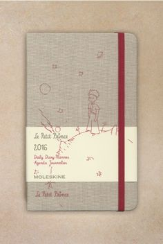 At NoteMaker.com.au Moleskine - 2016 Limited Edition - Daily Diary - Le Petit Prince - Large (13x21cm) - Canvas
