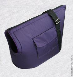 Купить Сумка-переноска для крупных кошек - тёмно-фиолетовый, сумка-переноска, для кошек, для собак