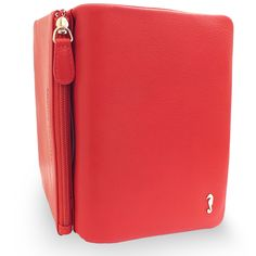 475 - Soft Fold Wallet in Red