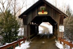 A SCRAPBOOK OF INSPIRATION: Christmas in Vermont