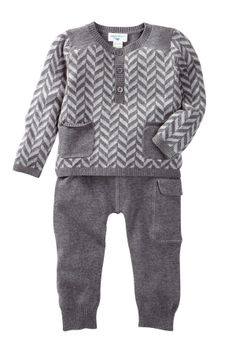 Herringbone Sweater Set (Baby)