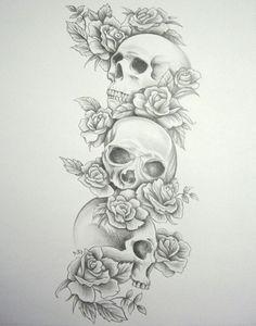 Tattoo Trends – Tag: skull and rose sleeve tattoo designs – Best Tattoo Design – skull tattoo sleeve Skull Tattoo Flowers, Skull Rose Tattoos, Skull Sleeve Tattoos, Best Sleeve Tattoos, Feather Tattoos, Leg Tattoos, Tattoo Sleeves, Tattos, Full Sleeve Tattoo Design