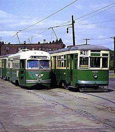 Trollys   Philadelphia Trolleys 1955
