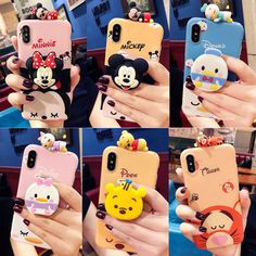 Details about Cute Disney Doll Stand Holder Soft Case Cover for iPhone Xs Max Xr 6 7 8 Plus Protect your from dust, scratching and shock. case with Kickstand. Fashion design, easy to put on and easy to take off.