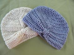 Free Crochet Pattern Baby Turban : Crochet Turban on Pinterest