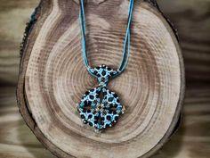 Fekete és arany a kék tengeren okno kristály nyaklánc Jewelry, Accessories, Fashion, Jewlery, Moda, Jewels, La Mode, Jewerly, Fasion