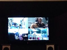 The guys cubically contained lol!  My studio visit in Toronto 7-27-14...the guys were f*cking amazing!  The new Headstones album One in the Chamber Music will be awesome!