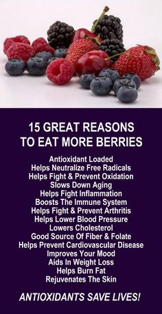 15 Great Reasons To Eat More Berries. Berries are antioxidant rich which is the cornerstone for good health. Learn about alkaline rich Kangen Water; the hydrogen rich, antioxidant loaded, ionized water that neutralize free radicals that cause oxidative st
