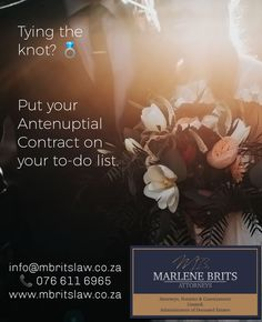 Marlene Brits Attorneys Tying the knot? Pu your Antenuptial Contract on your to-do-list! #attorney #lawyer #law #lawfirm #legal #lawyers #personalinjury #lawyerlife #lawyersofinstagram #attorneyatlaw #justice #attorneylife #personalinjurylawyer #attorneys #lawschool #litigation #instalawyer #familylaw #accident #personalinjuryattorney #lawstudent #caraccident #lawyering #criminaldefense #court #lawyerup #florida #legalservices #entrepreneur #bhfyp Criminal Defense, Attorney At Law, Personal Injury Lawyer, Law School, Lawyers, Tie The Knots, Entrepreneur, Florida, Wedding