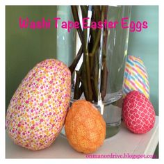 On Manor Drive: Washi Tape Easter Eggs