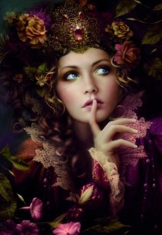 Lady of Sound, Voice of Nature all around. Hear her songs upon the Wind. And her harps when the Goddess Sings.