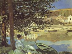 ... Western Paintings : French impressionist painting : Claude Monet