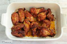 Receta de alitas picantes en el horno al estilo de Buffalo para el derby / Buffalo Wings for the Superbowl or Futbol Match tonight