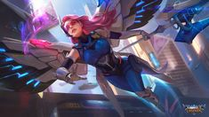 View an image titled 'Rafaela Art' in our Mobile Legends: Bang Bang art gallery featuring official character designs, concept art, and promo pictures. Game Character Design, Character Art, Backgrounds Hd, Wallpapers, Moba Legends, Alucard Mobile Legends, Cute Anime Coupes, Mobile Legend Wallpaper, Hero Wallpaper
