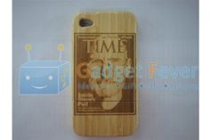 Apple iPhone 4 / 4S Wooden Protective Case (Style Q)