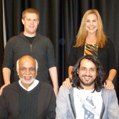 Congrats to the Thurs Eve Swiss Teams A Winners Jeremy Fournier, Stefanie Scott, Hemant Lall & Justin Lall