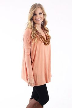 Oh So Easy Top, Nude