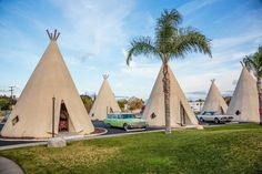 Wigwam Village...........the Wigwam Motel in San Bernadino, CA