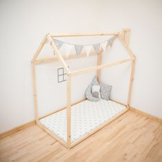 Bed house is an amazing place for children where they can sleep and play. There are several reasons why you should choose this bed for your