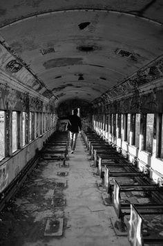 Abandoned Train, Lambertville, NJ  #abandoned  #creepy  #graffiti  #submission
