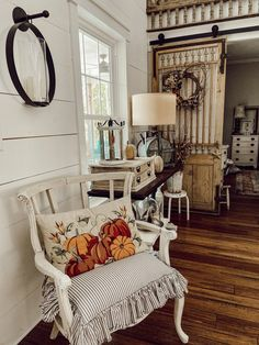 Join me on a blog hop tour - Fall Farmhouse Inspiration. See how Copper, Amber, Thrift Store & Flea Market flips, trash to treasure finds, DIY & craft projects, repurposed items and more come together for this years Fall Country Style. Tour includes Living Area, Kitchen and Dining Area of the Farmhouse. Farmhouse Style, Farmhouse Decor, Country Style, Southern Style, French Country, Fall Home Decor, Autumn Home, Christmas In July, Christmas Trees