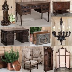 COUNTRY FRENCH ANTIQUES #CountryFrench #Antiques www.inessa.com