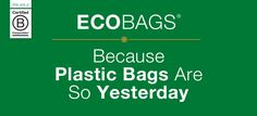 ECOBAGS is a manufacturer and vendor of eco-friendly reusable bags. Discover our sustainable shopping and grocery bags. Because plastic bags are so yesterday!