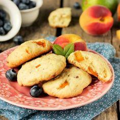 Sugar Free Fresh Peach Cookies.